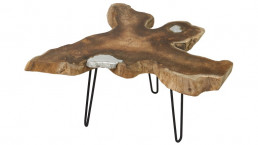 Bazar de Bali table basse design en bois