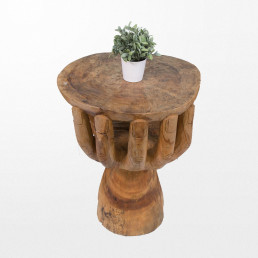 Bazar de Bali table design en bois